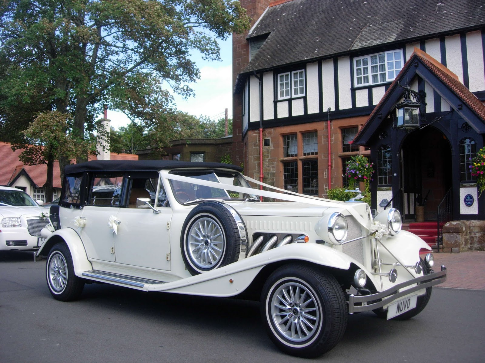 Baby Bentley Glasgow Beauford Newton Mearns Wedding Car Cars Ayrshire In