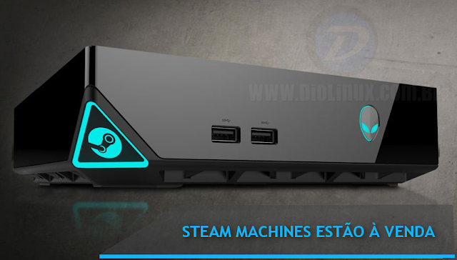 Steam Machines à venda