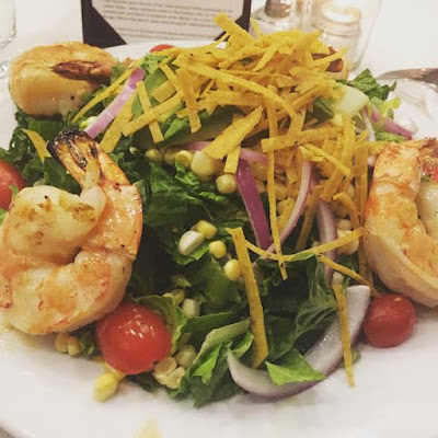 Honey-Lime Shrimp Salad at Jolane's Restaurant in Glenview, IL