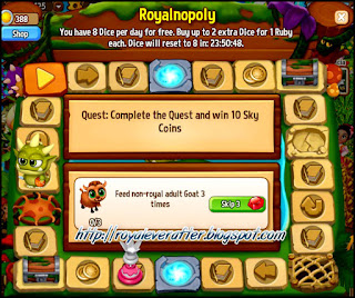 Royalnopoly is back in Royal Story