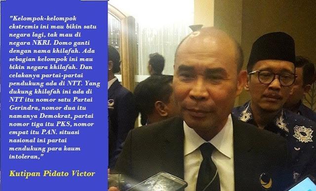 Kenapa Laporan Atas Victor Laiskodat Ditelantarkan Polisi?