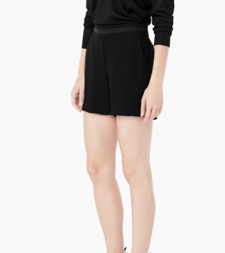 Fondo de armario rebajas FW 2015-2016 pantalones negros cortos