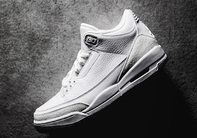 "b388a4b9f5489f Here s a first look at the angelic Air Jordan 3 Retro ""Pure White"" set to  release this summer. Much like the Air Jordan 3 ""Pure Money"" from 2007"