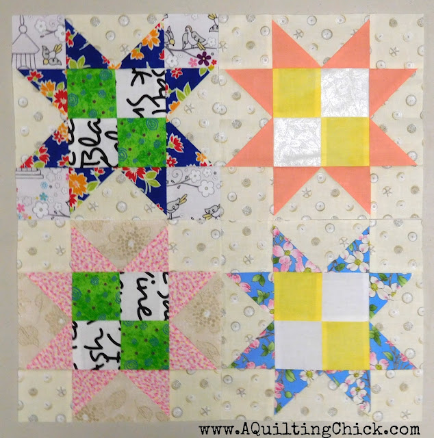 A Quilting Chick - Stargyle Quilt