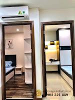 Căn hộ full nội thất tòa Orchid 2 HaDo Centrosa cho thuê - cửa phòng ngủ và phòng đa năng