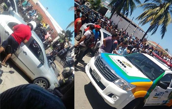 Bombeiro que trocou tiros com agentes da SMTT e guardas municipais está de licença
