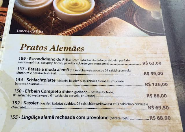 Cervejaria Fritz na cidade de São Paulo: um pastel de eisbein, por favor!
