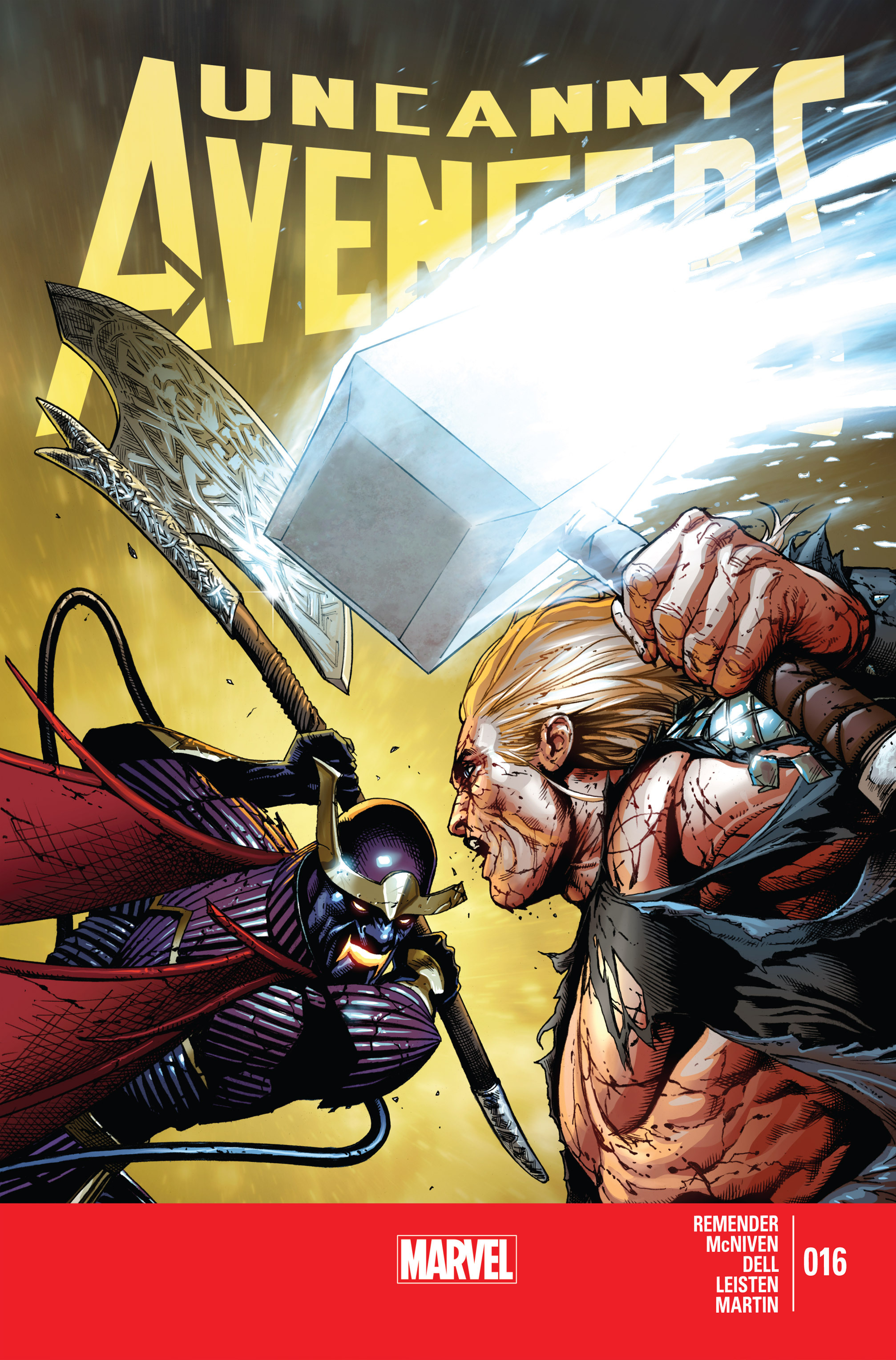 Read online Uncanny Avengers (2012) comic -  Issue #16 - 1