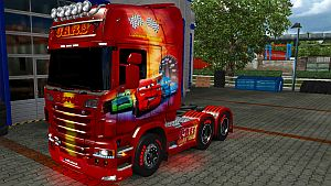 Cars skin for Scania R