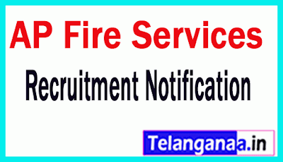 AP Fire Services Recruitment Notification
