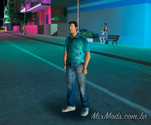 gta vc vice city mod camera rotate move rodar rotacionar por volta