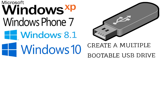 To create a bootable USB flash drive