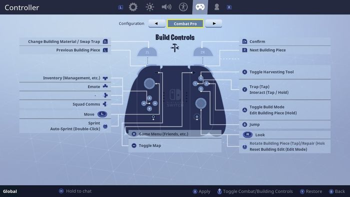Get Trap Picker Wheel In Fortnite Fortnite Controls For For Pc Ps4 Xbox One Switch Mac And Mobile