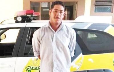 Preso em Mato Rico, homem acusado de matar esposa a pedradas