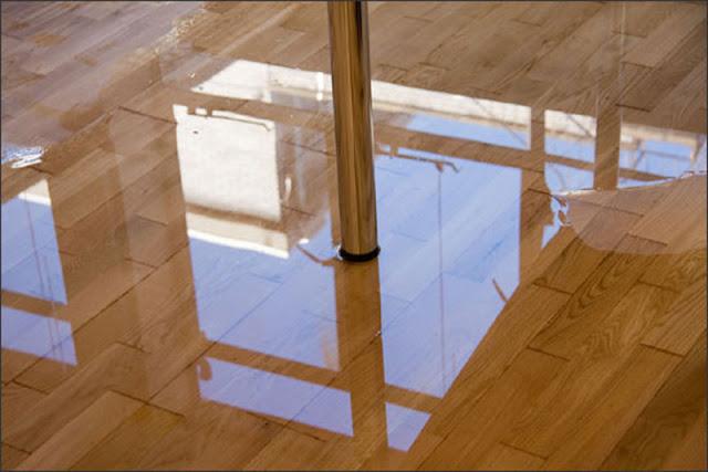 Xử lý sàn tre bị ngập nước trong thời gian dài