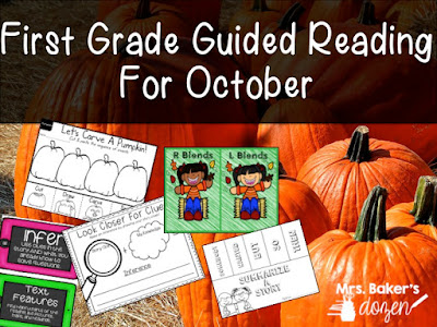 https://www.teacherspayteachers.com/Product/First-Grade-Guided-Reading-For-October-2820137