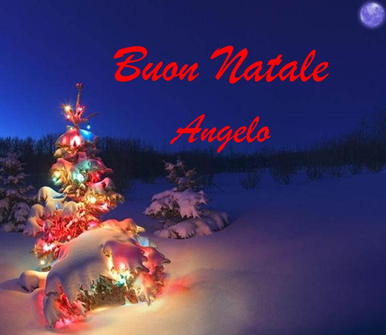 Buon Natale 1a.Angelo Virago Buon Natale