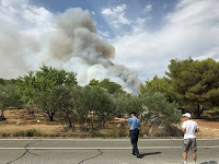 požari Selca slike otok Brač Online