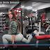 Treino de glúteos da atleta Olena Starodubets de dezembro/2017
