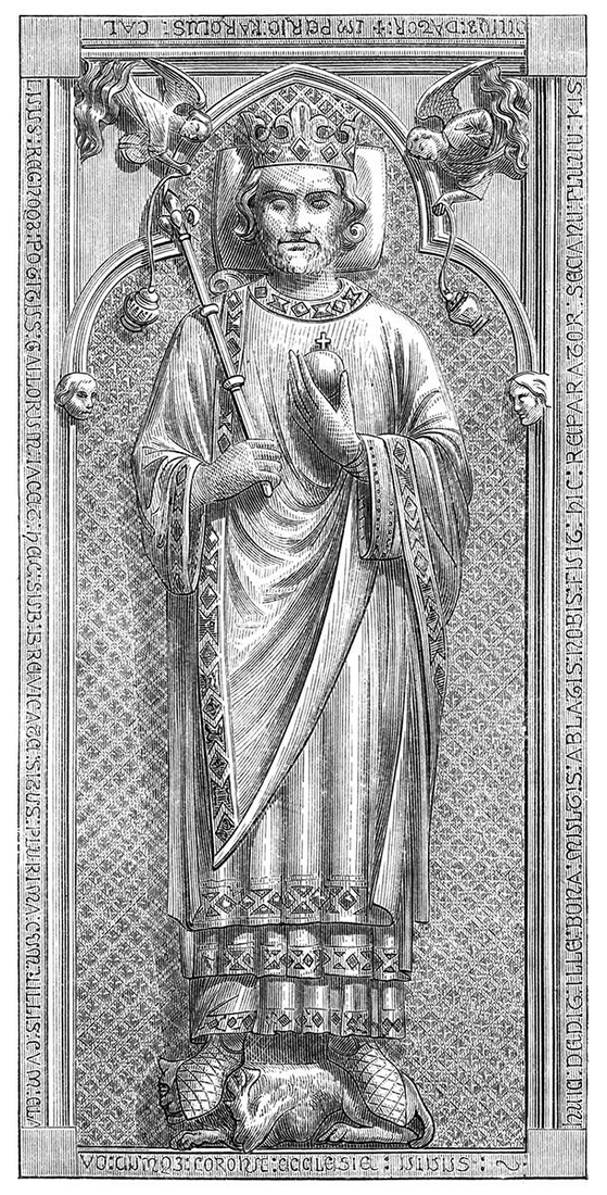 11-Tomb-of-Charles-the-Bald-Eugène-Viollet-le-Duc-Gothic-Drawings-from-an-Architect-in-18th-Century-www-designstack-co