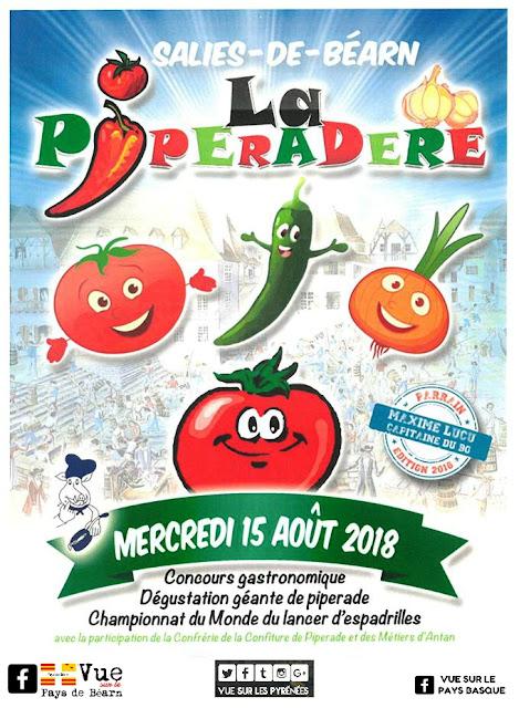 La Piperadère Salies de Béarn 2018