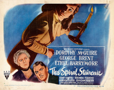 Classic Movie Ramblings The Spiral Staircase 1946
