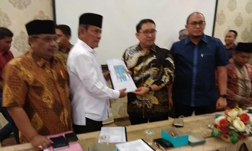 Kisruh Penguasaan Tanah di Padang, Fadli Zon Bertemu Pengurus Forum Nagari Tigo Sandiang