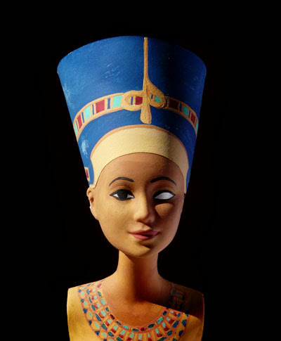 Barbie Nefertiti - Réplica de Jocelyne Grivaud