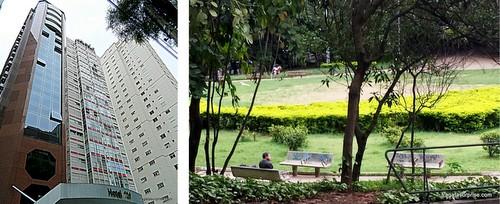 Hospedagem em São Paulo nos Jardins: Royal Jardins Boutique Hotel  e Praça Alexandre de Gusmão
