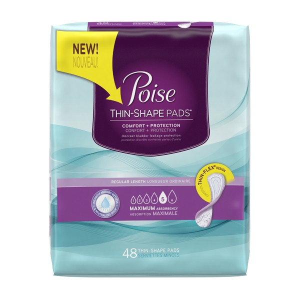 Poise Thin Shape Pads - Free Sample - So You Can Recycle Your Period Pad