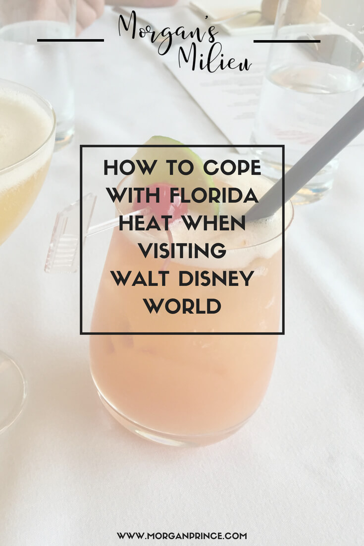 Top tips for coping with the heat in Florida when visiting Walt Disney World