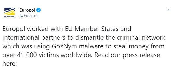 europol twitter