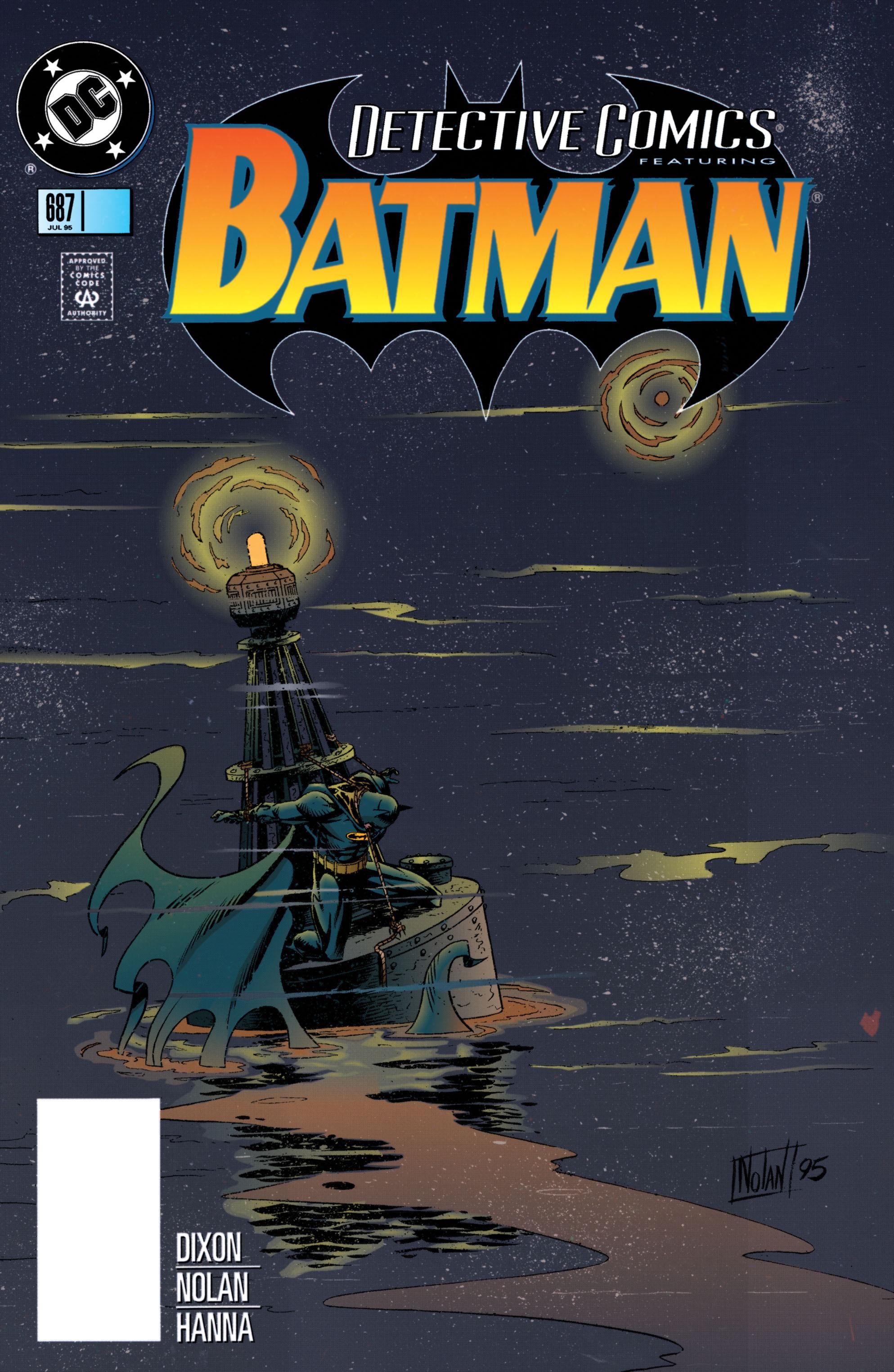 Detective Comics (1937) 687 Page 1