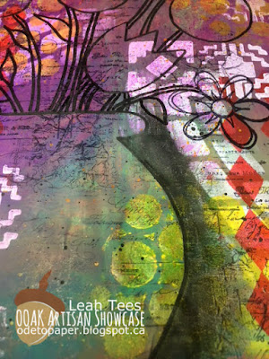 Cloth, Paper, Scissors, OOAK Artisans, Leah Tees, Mixed Media