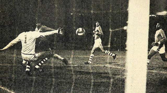 Chile y Bolivia en Copa Leoncio Provoste, 24 de julio de 1973