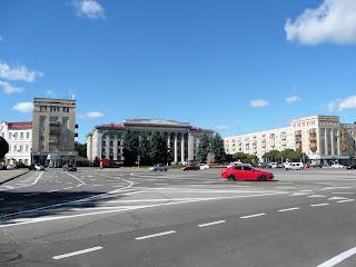 Житомир. Соборная площадь
