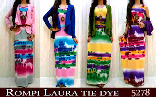 Rompi Laura Tie Dye fit to L