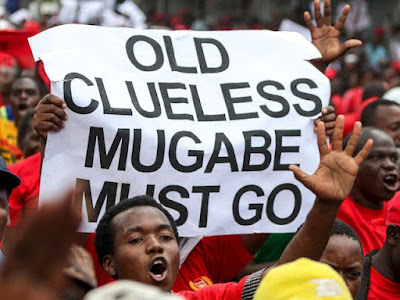 Thousands take to the streets in Zimbabwe in massive anti-Mugabe protests
