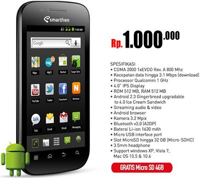 Harga HP Android: Harga hp dibawah 1 juta