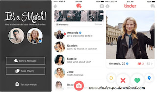 Tinder Sign Up or Login PC