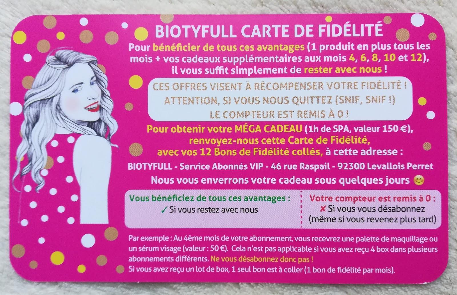 """BIOTYfull Box / Décembre 2018 """"La Festive"""" 🎁"""