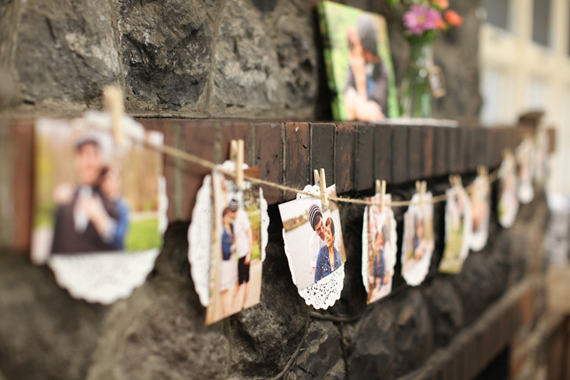 inexpensive rustic bridal shower decoration