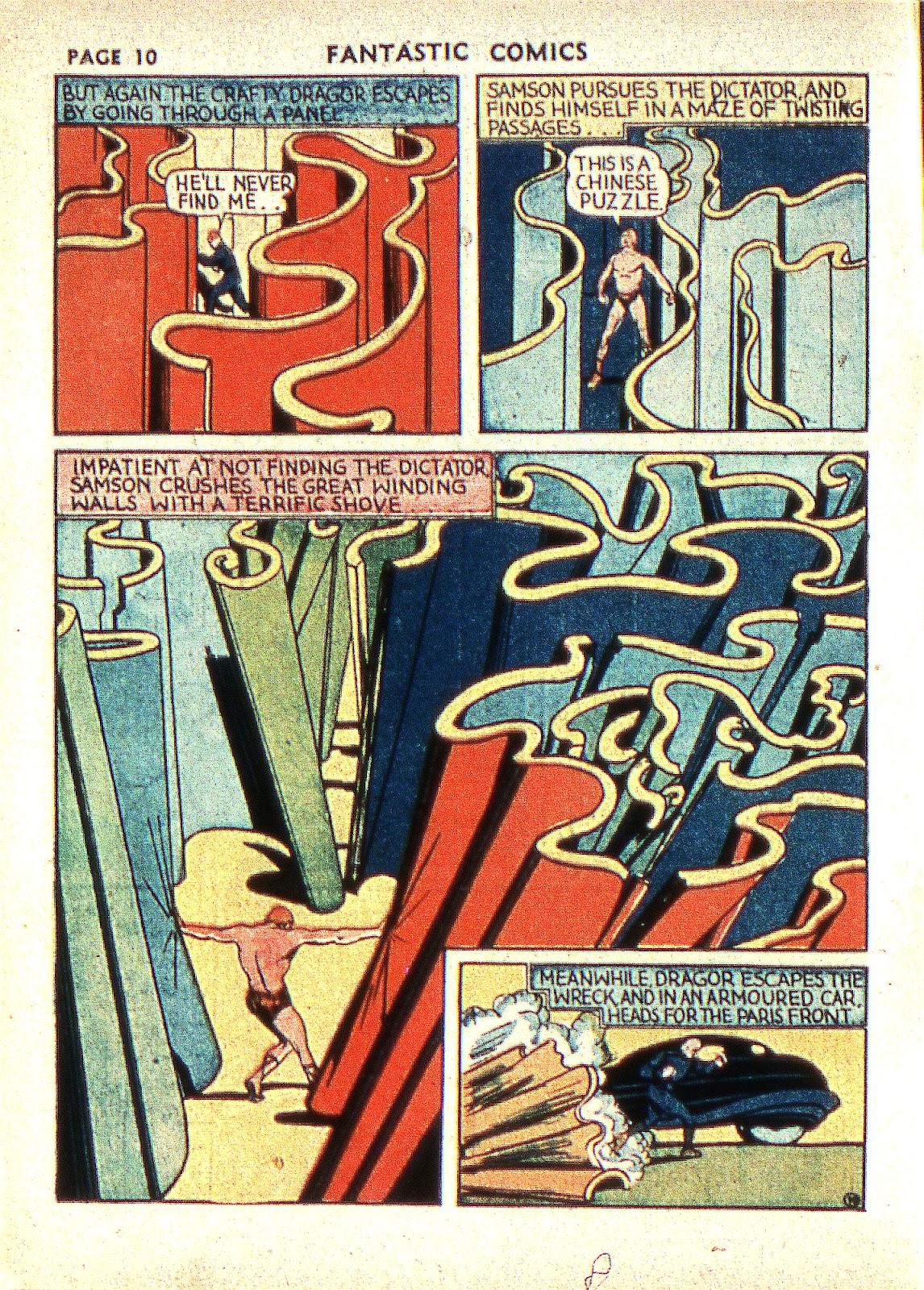 Read online Fantastic Comics comic -  Issue #2 - 12