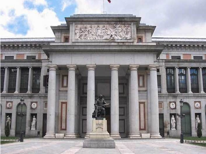 Resultado de imagen de Museo del Prado, en Madrid, de Juan de Villanueva.
