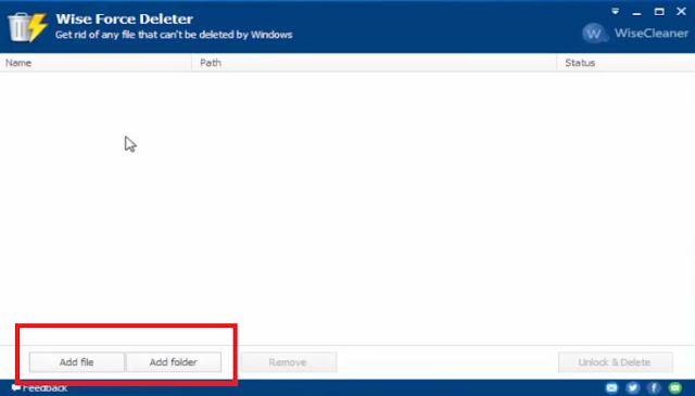 تحميل برنامج مسح الملفات المستعصية التي لا تستطيع مسحها Wise Force Deleter