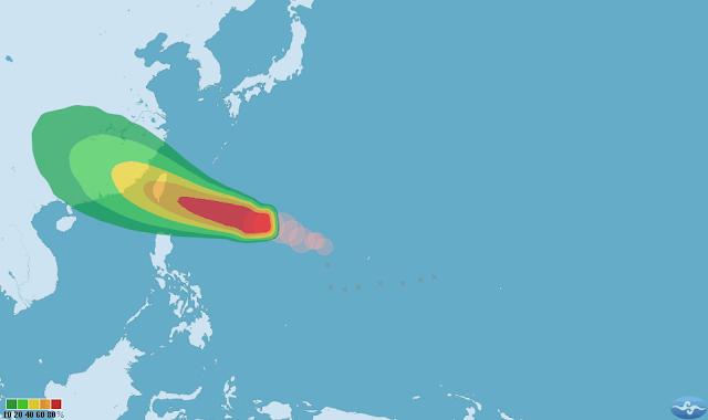 Topan Semakin Menguat dan Meluas, Taiwan Akan Keluarkan Peringatan Laut Untuk Topan Meggie Pagi Ini