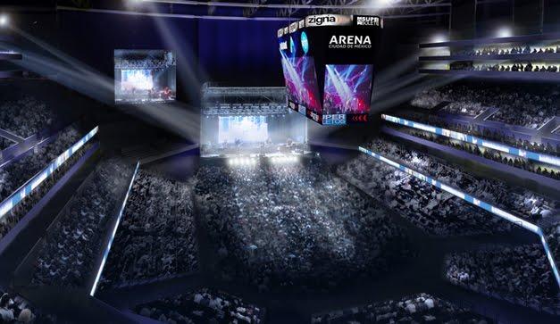 Arena Ciudad de Mexico: Proximos conciertos