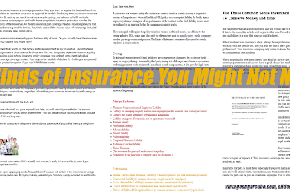 10 Kinds of Insurance You Might Not Need