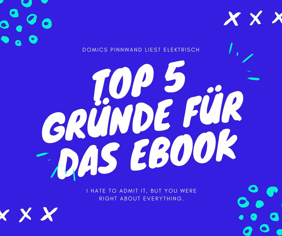 Domics Pinnwand: Meine Top 5 Gründe für Kindle und Tolino: Warum ich ...