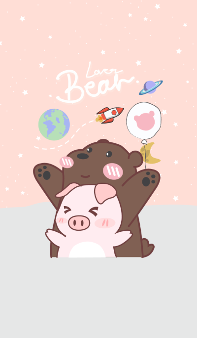 My Bear and Pig (Pink Ver.)